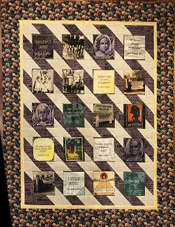 Votes for Women Quilt