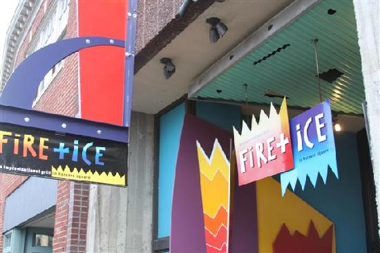Fire+Ice sign